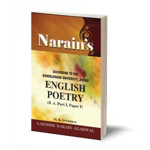 English Poetry (B.A Part-I Paper-I) Bundelkhand -