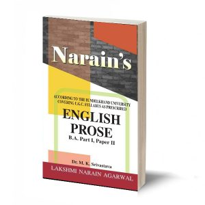 English Prose (B.A Part-I Paper-Ii) Bundelkhand -